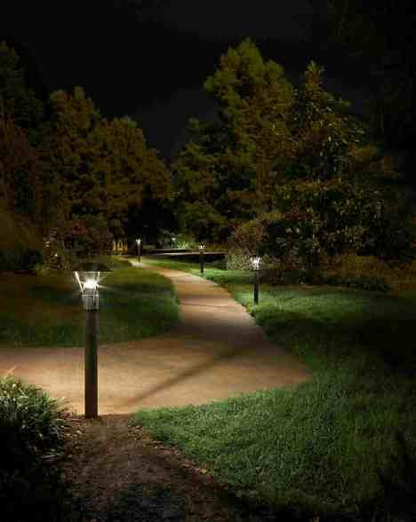 Lc 7 Bollard Night Park Outdoor Lighting Of Colorado S Blog