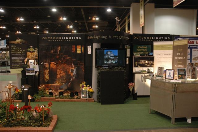 Exhibition Booth Outdoor : Colorado garden and home show outdoor lighting of
