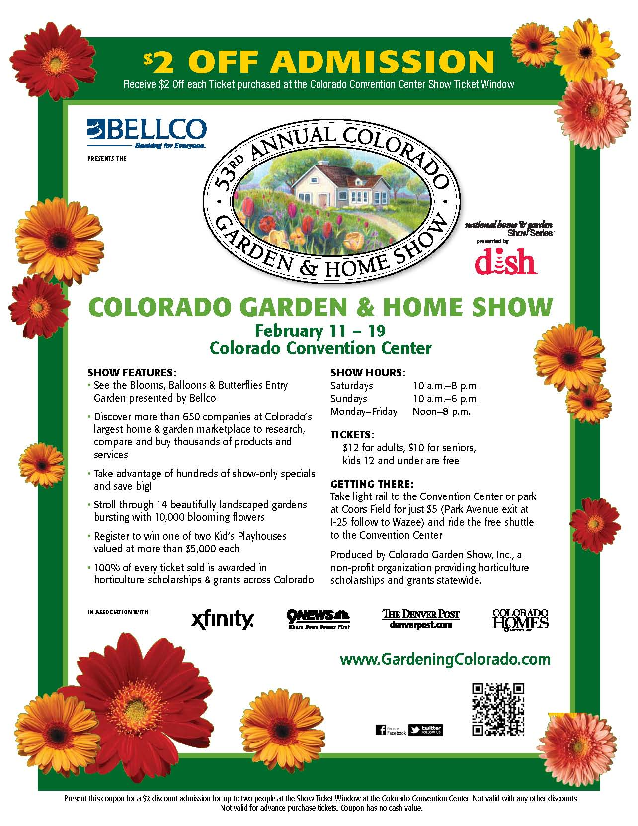 2 Off Admission At The 2012 Colorado Garden Home Show