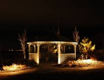 Enjoy Your Landscaping in the Evening with Outdoor Lighting