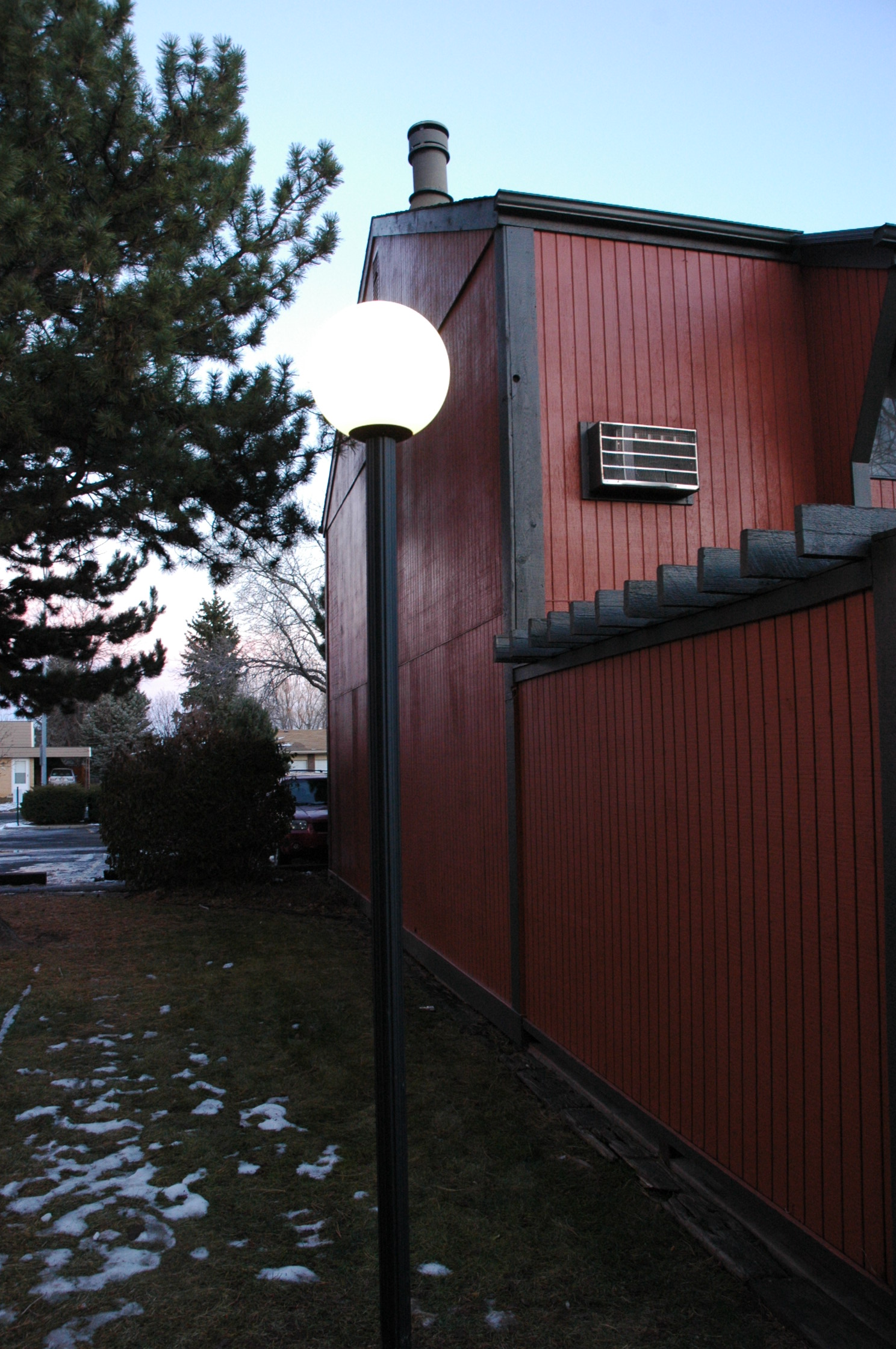 Denver Metro Commercial Lighting Outdoor Of Colorados Blog Low Voltage Home Wiring New Led Post Lights At Woodbox Condos