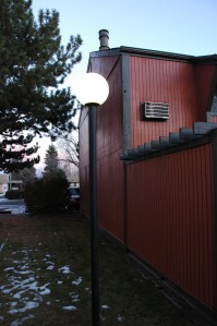 New Low Voltage LED Post Lights at Woodbox Condos