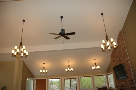 Willow Creek II Clubhouse Lighting - After